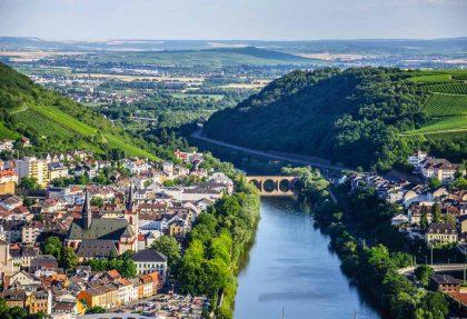 Rhein in Flammen