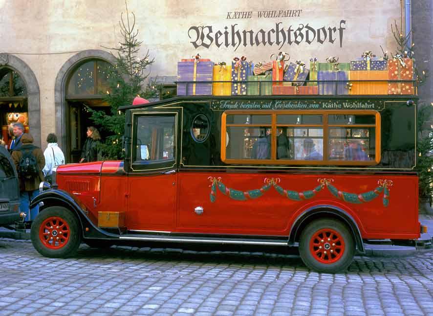 Advent im Frankenland - Dinkelbühl - Ulm - Würzburg - Rothenburg ob der Tauber