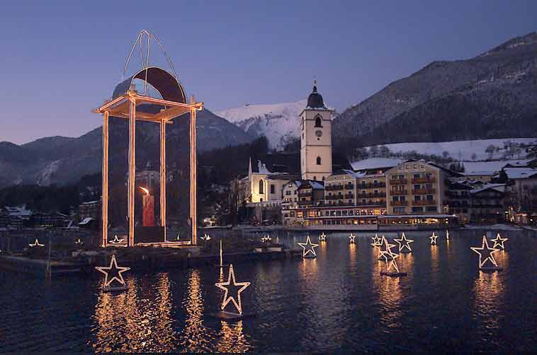 Advent am Wolfgangsee mit St. Wolgang - Strobl - St.Gilgen