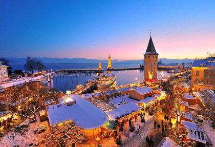Hafenadvent am Bodensee mit Lindau - St.Gallen und Konstanz