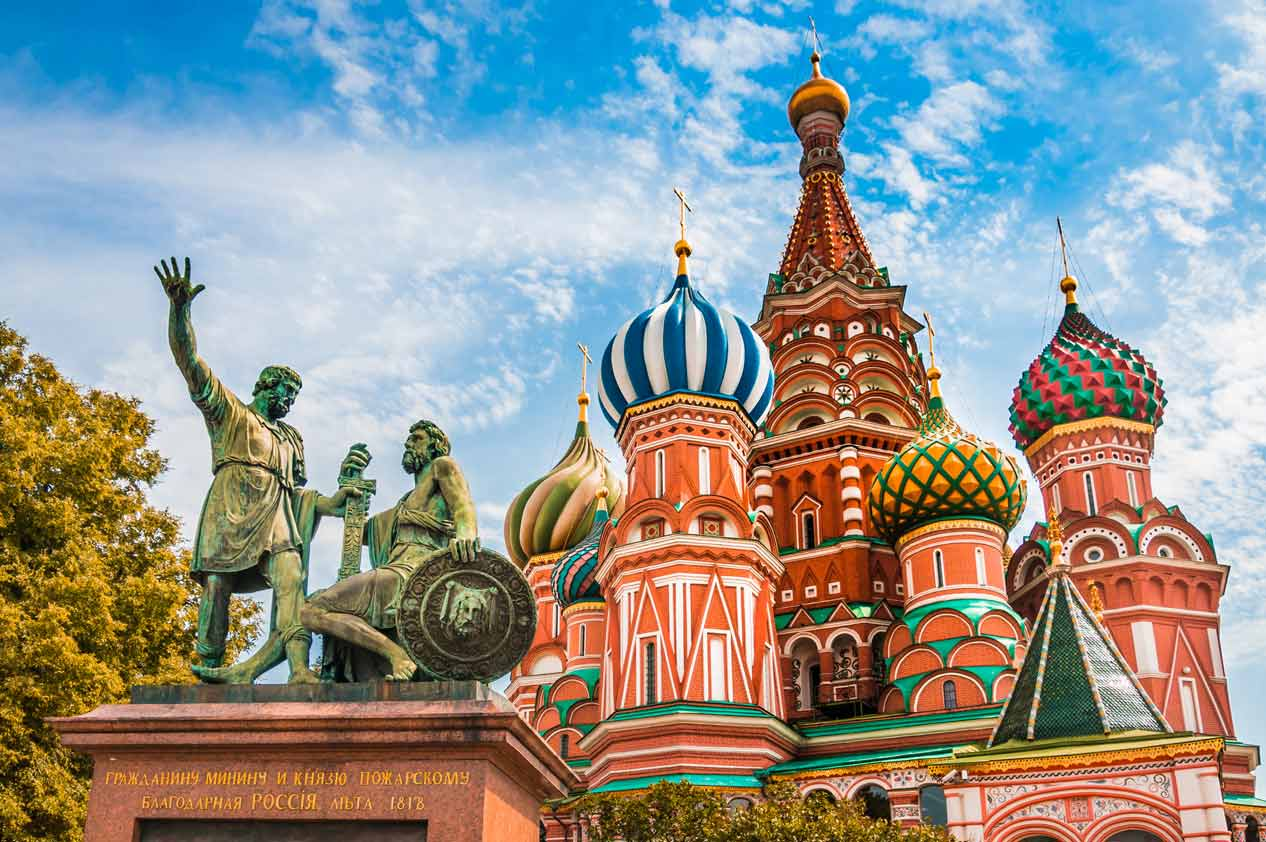Flusskreuzfahrt St.Petersburg - Moskau