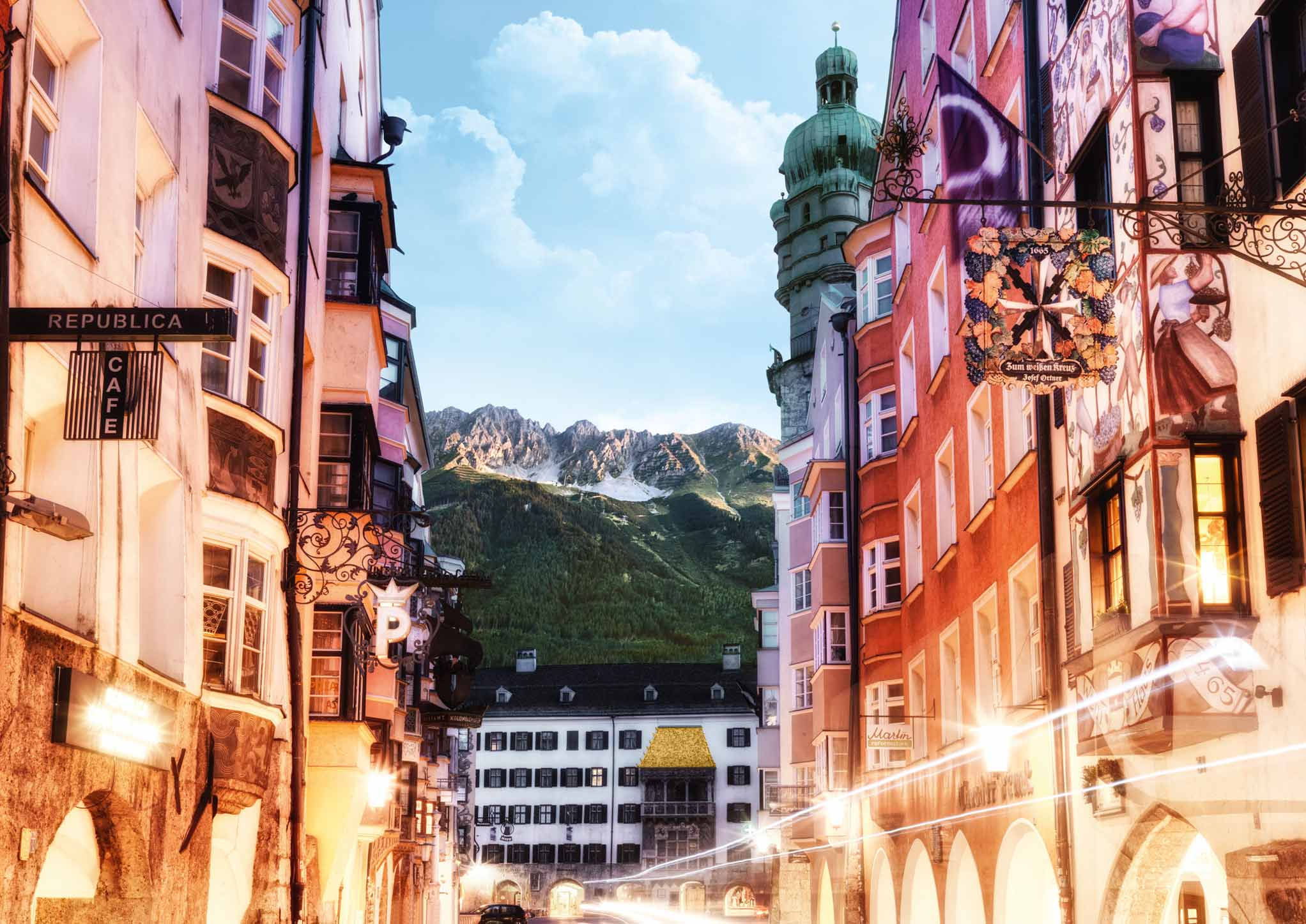 Tiroler Adventzauber mit Kitzbühel - innsbruck - Swarovski Kristallwelten