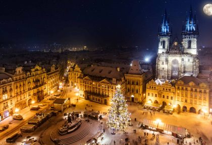 Advent in Prag