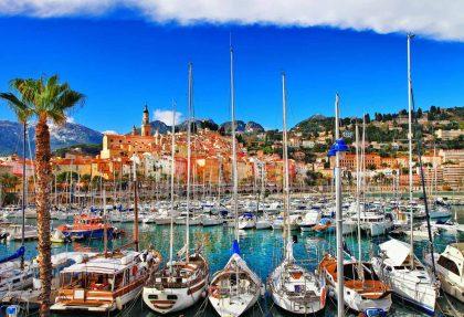 Blumenriviera und Cote d'Azur
