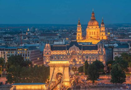 Tagesfahrt zum Advent in Budapest