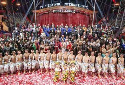 Frühlingserwachen Côte d'Azur und 42. internationales Zirkusfestival von Monte Carlo