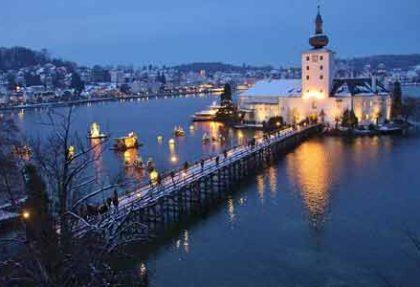 Advent im Seeschloss Ort in Gmunden